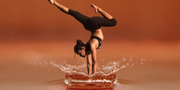 Yoga erfordert Konzentration und Übung
