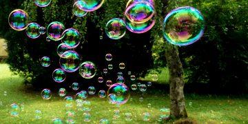 Wunder, vergänglich wie Seifenblasen ist die Schönheit der Welt